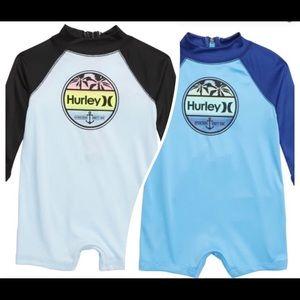 NWT Hurley Nike One-Piece Rashguard Swimsuit 0-3 m